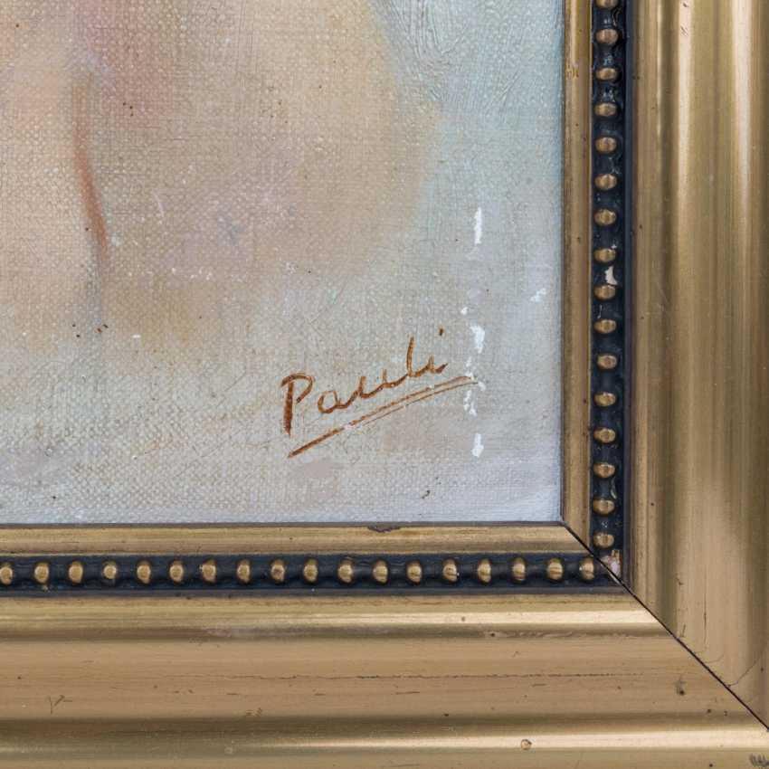 PAULI (artist of the 20th century) 'girl portrait'. - photo 3