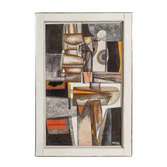 """HETZ, ALFRED (1913-1974), """"Abstract Composition"""", - photo 2"""