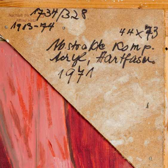 """HETZ, ALFRED (1913-1974), """"Abstract Composition"""", - photo 5"""