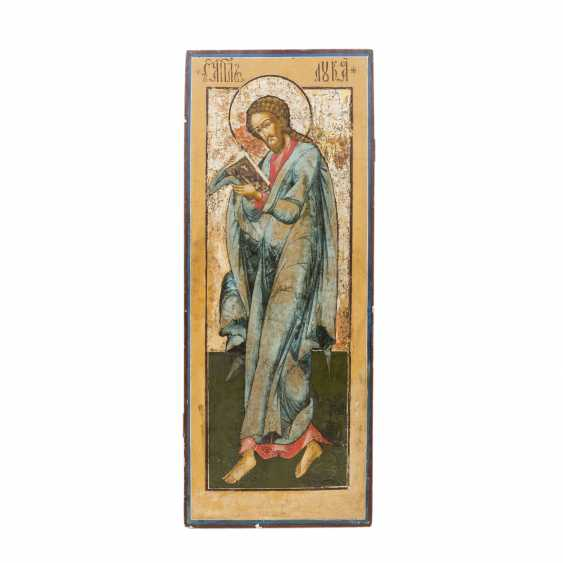 LARGE-FORMAT ICON WITH THE EVANGELIST LUKAS - photo 1