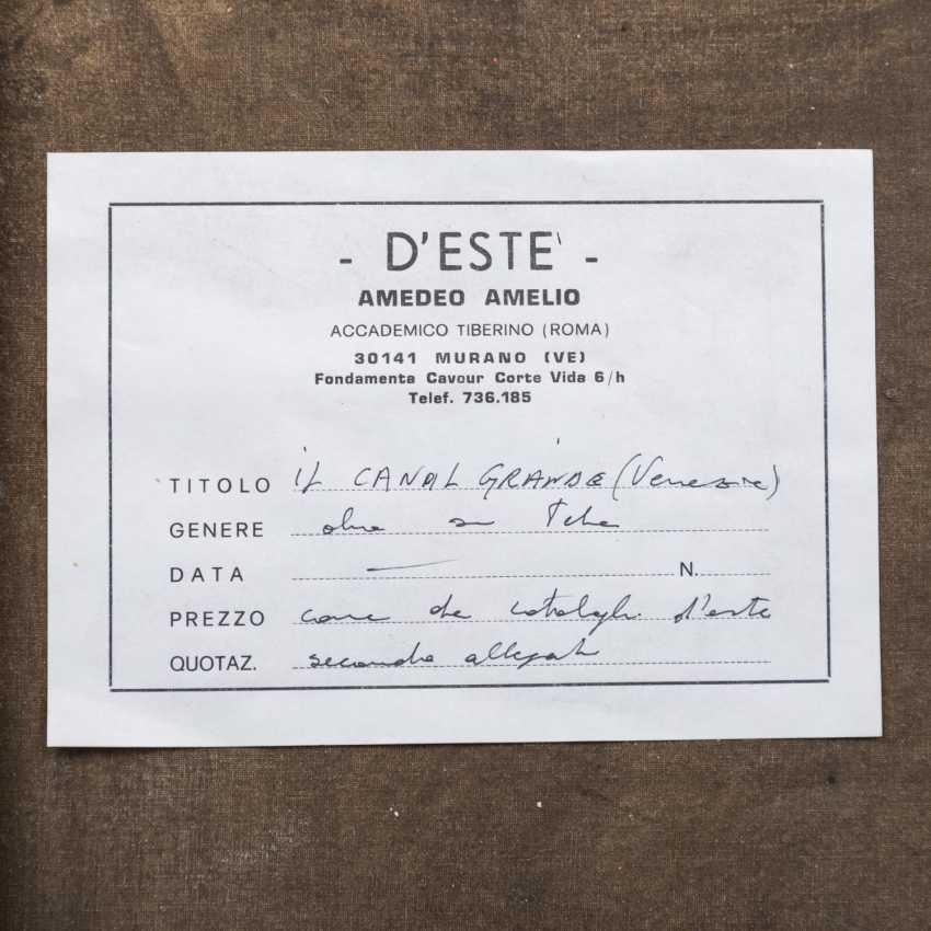"D`ESTE, AMEDEO AMELIO (1912-2010) ""The Grand Canal"" - photo 6"