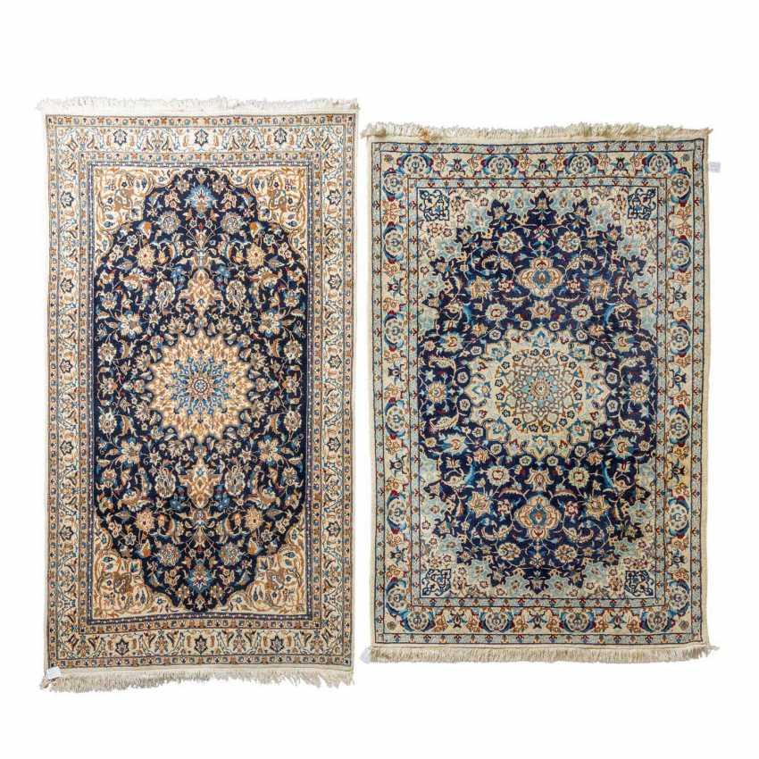 2 oriental carpets NAIN / PERSIEN, 1970s. - photo 1