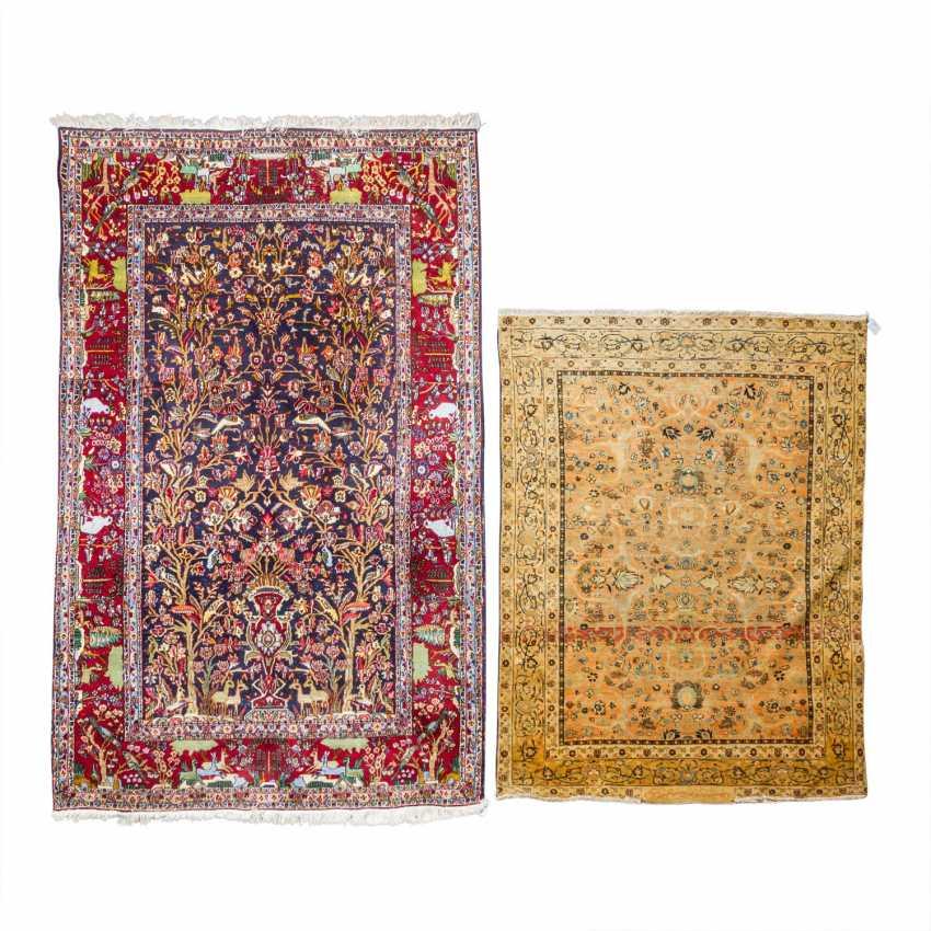 2 oriental carpets, PERSIA: - photo 1