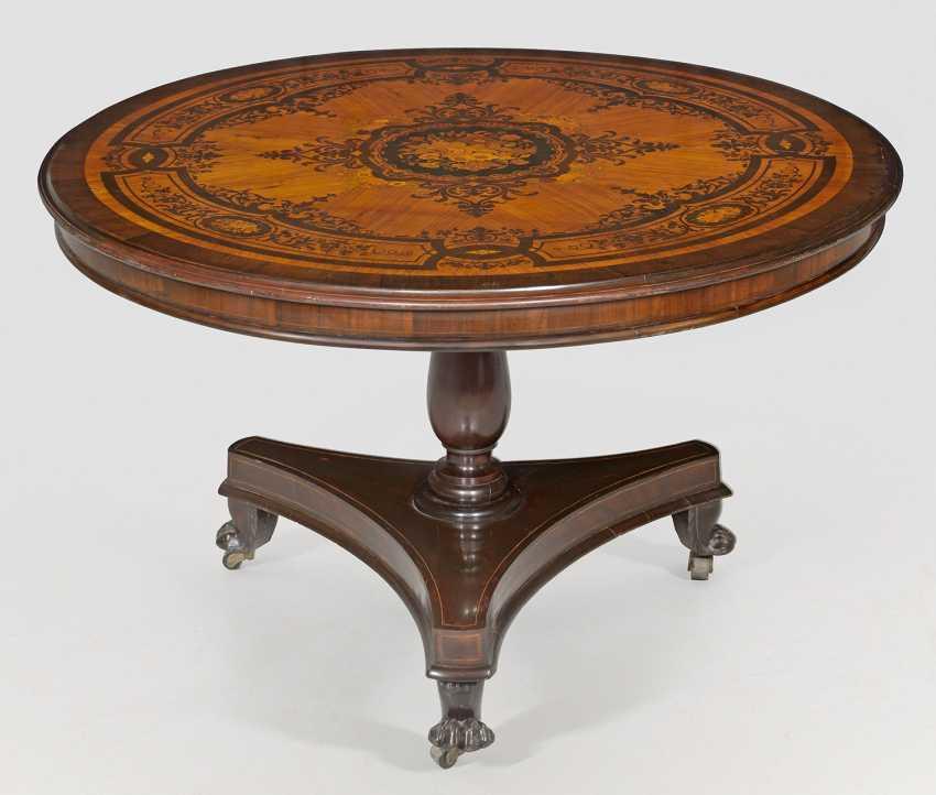 Large Salon Table - photo 1
