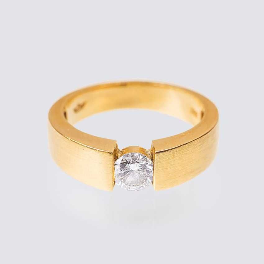 Solitaire ring - photo 1