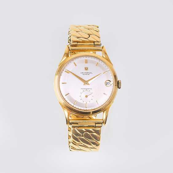 Vintage men's wristwatch 'Monodatic' - photo 1
