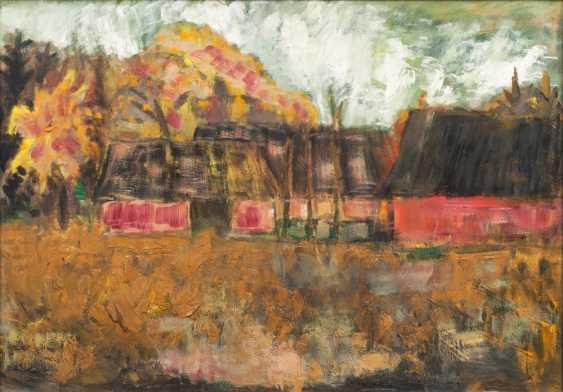 Farmhouses in autumn - photo 1