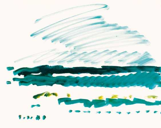 Green sky, green sea - photo 1