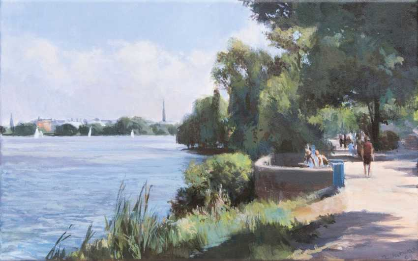 Afternoon at the Outer Alster - photo 1