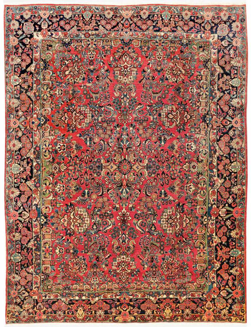 One of the great old Sarouk carpet - photo 1