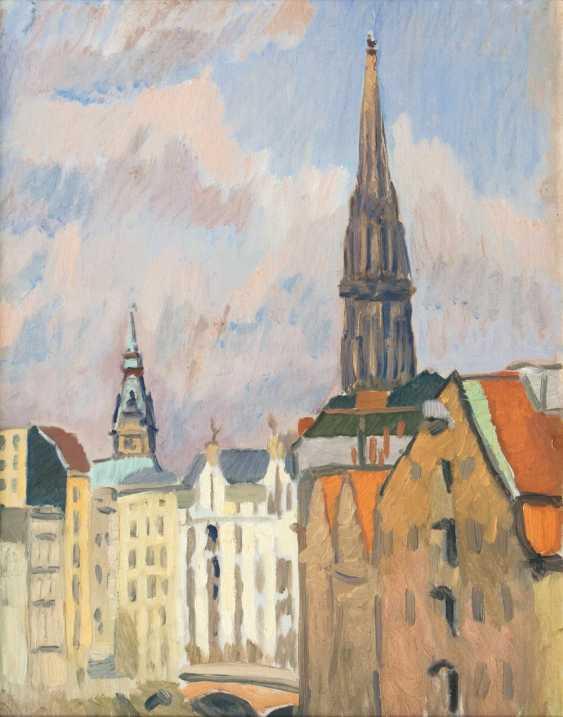 Nikolaikirchturm and town hall tower - photo 1
