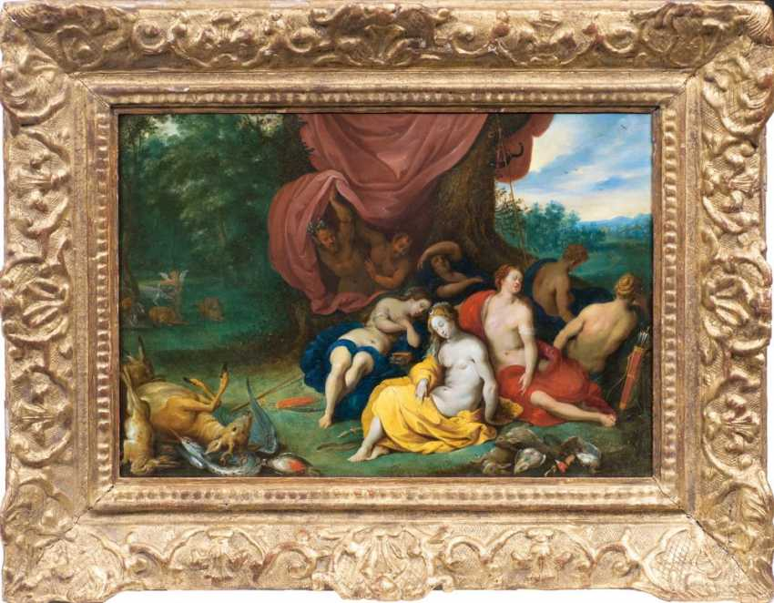 Diana and her nymphs are discovered by satyrs - photo 2