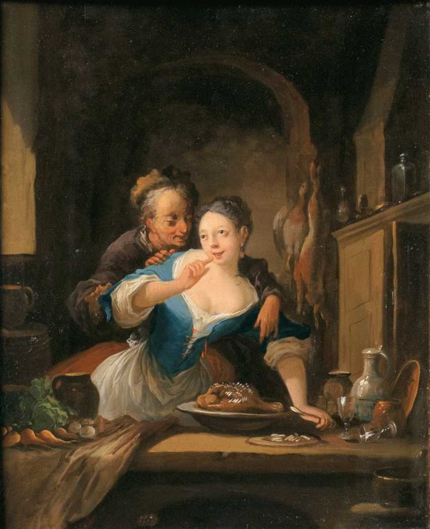 Couple in the kitchen - photo 1