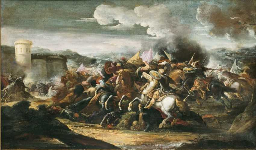 Cavalry battle - photo 1
