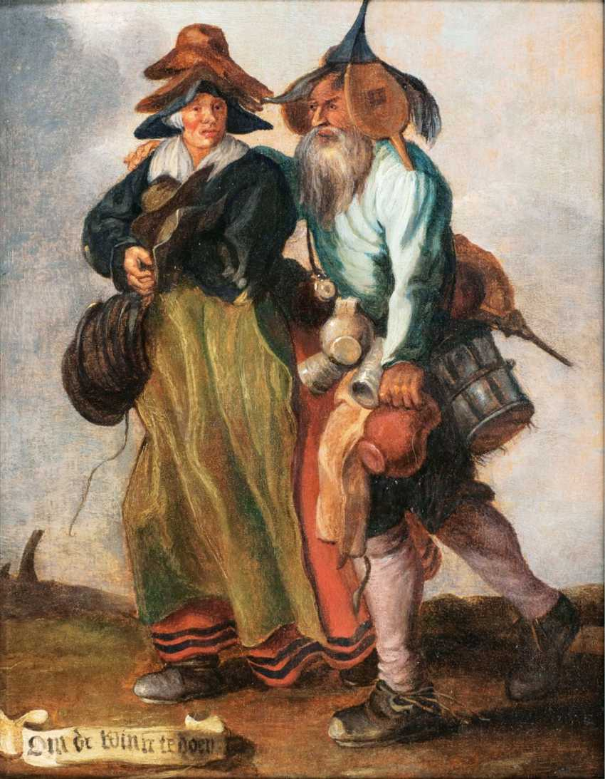 Two peddlers - photo 1