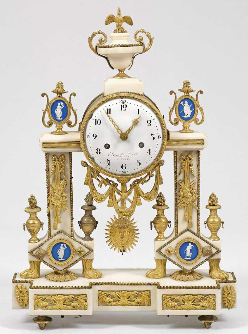 Large Louis XVI-Portaluhr - photo 1