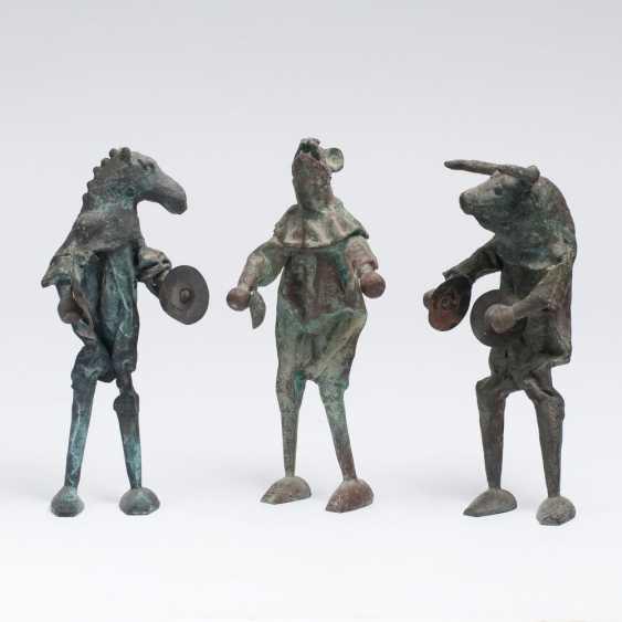 Three musicians - photo 1