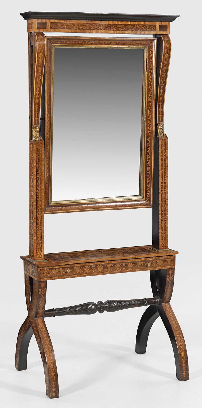 Lombard Standing Mirror - photo 1