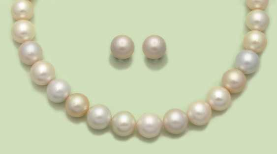 Classic South Sea pearl parure - photo 1