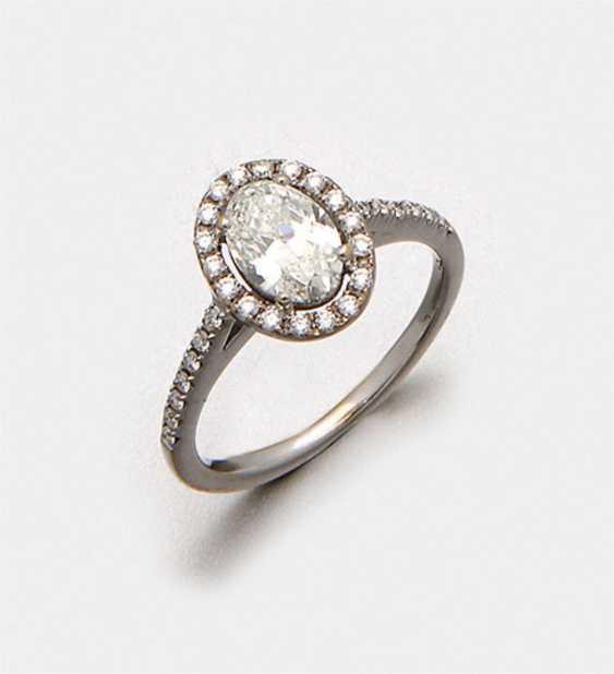 Fine diamond solitaire ring - photo 1