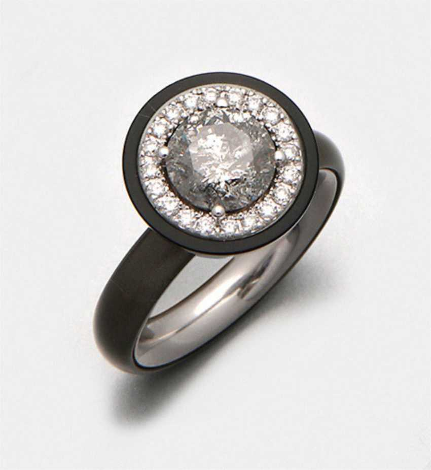 Diamond solitaire ring from Gellner - photo 1