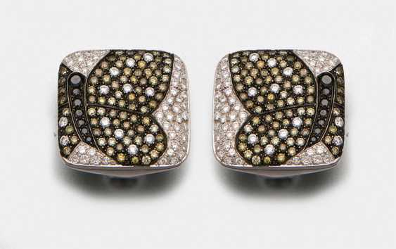 Pair of diamond clip-on earrings from Cavello - photo 1