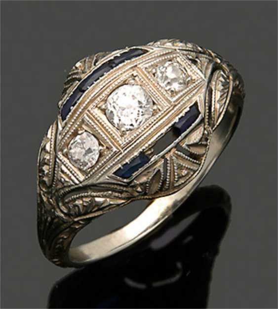 Art Deco-Diamantring - photo 1