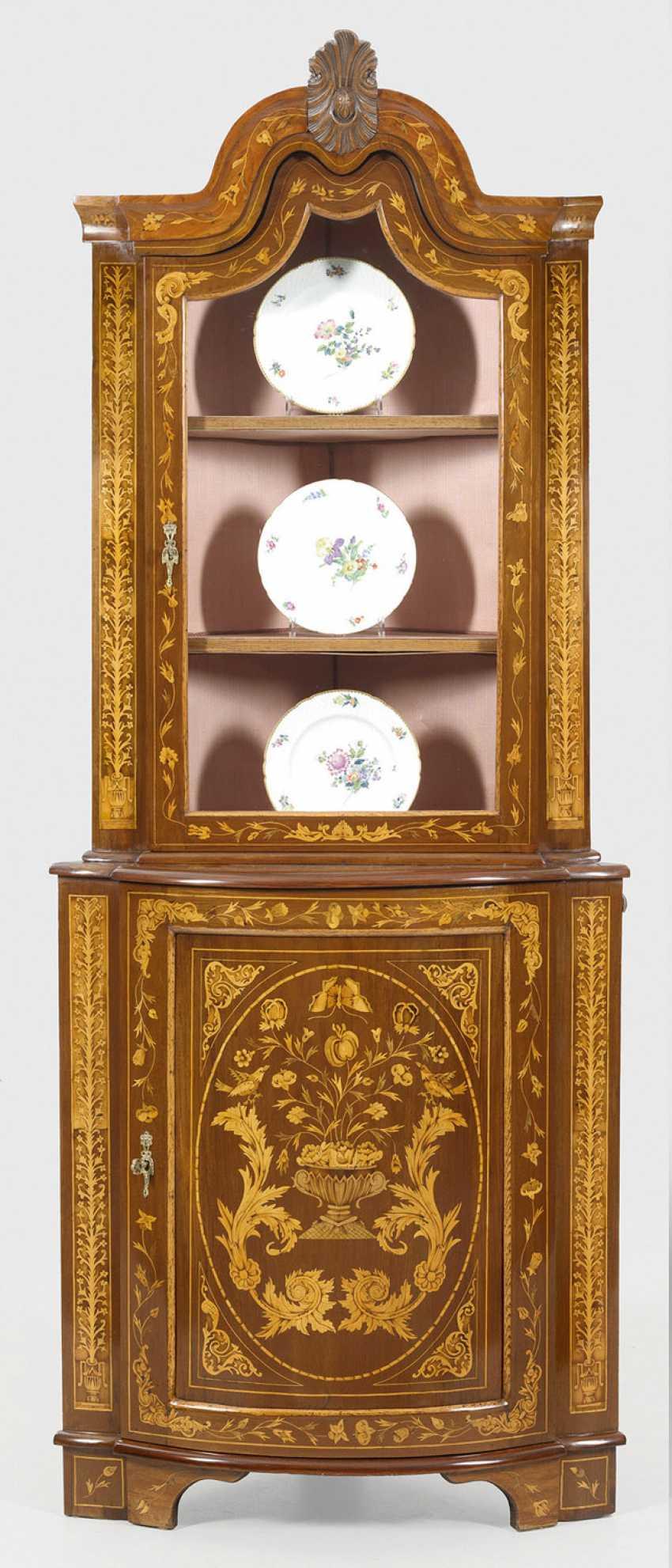 Corner display case Cabinet - photo 1
