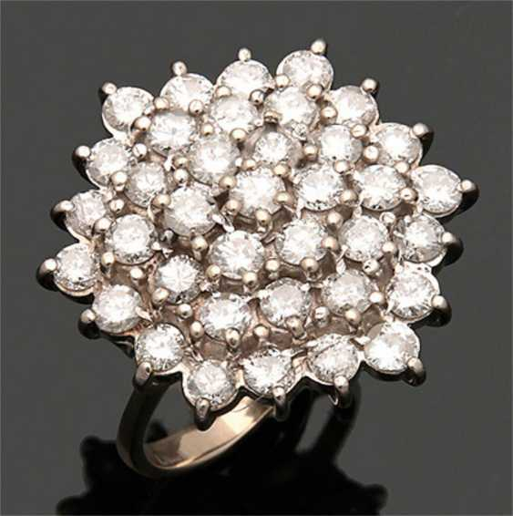 Cocktail diamond ring from the 1960s - photo 1