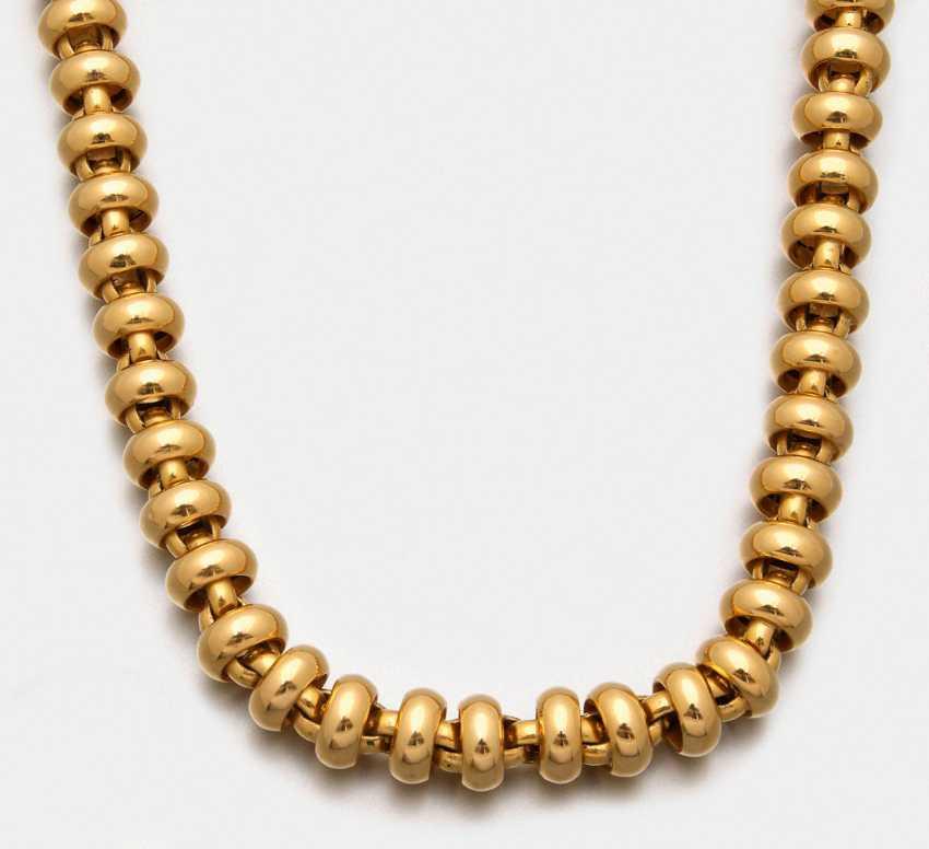 Representative gold necklace - photo 1