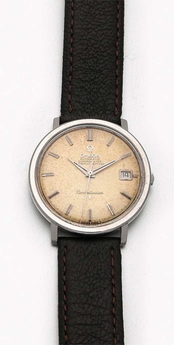 """Omega men's wristwatch """"Constellation"""" from the 1960s - photo 1"""
