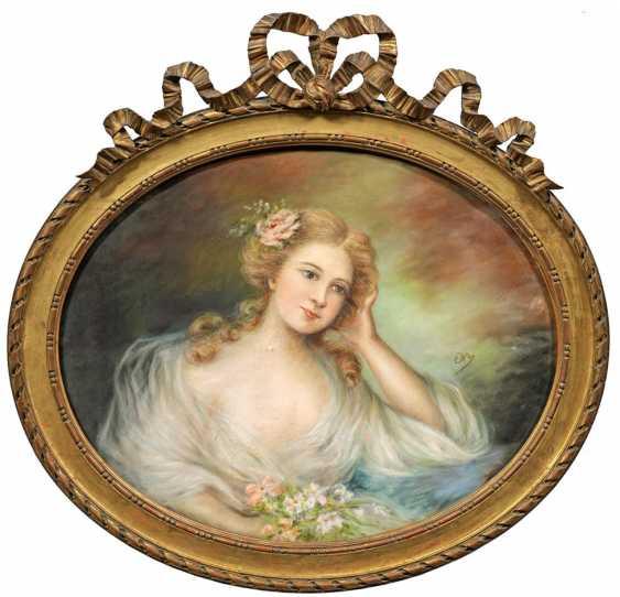 Britischer oder französischer Bildnismaler - photo 1