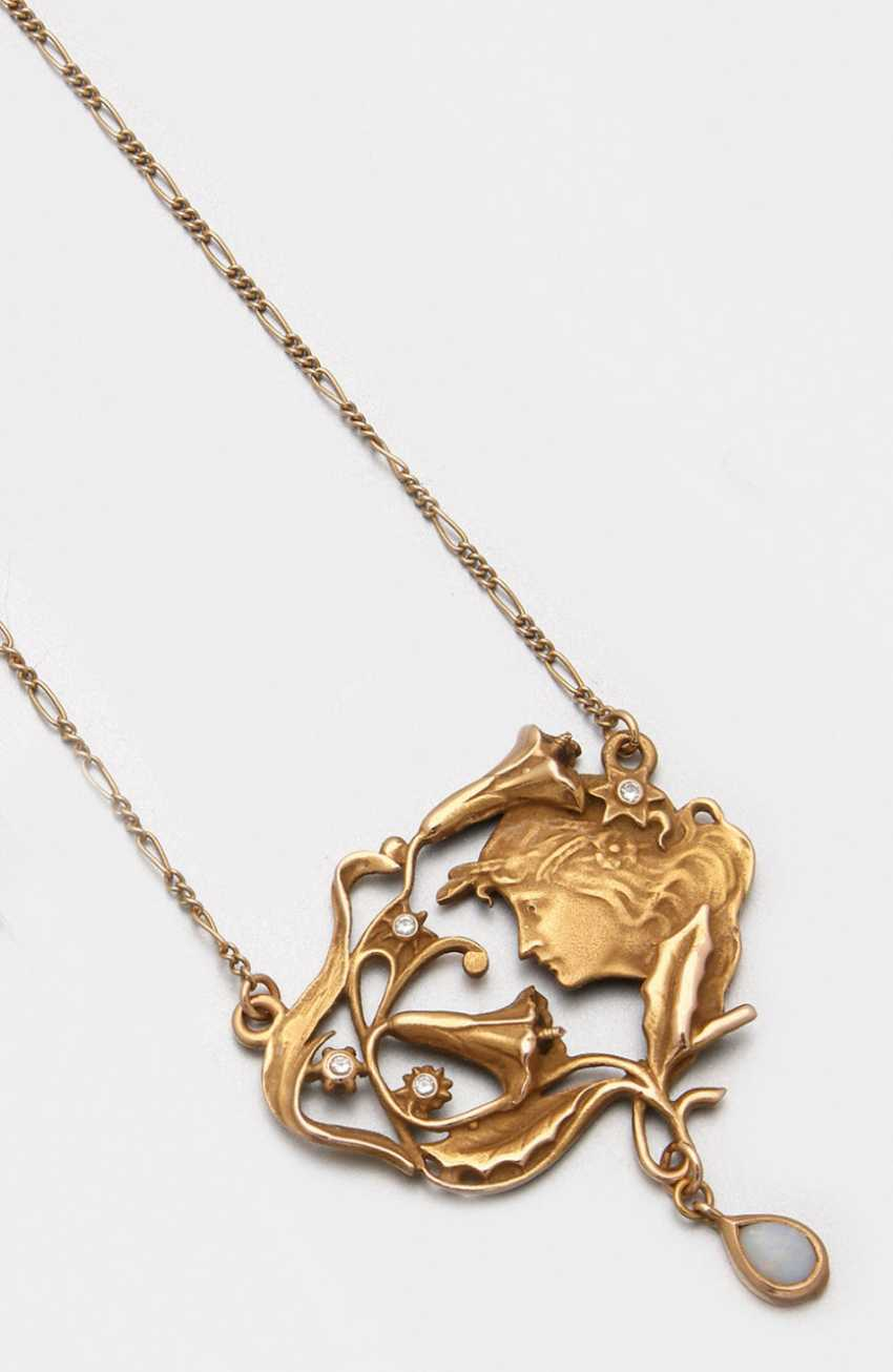 Art Nouveau necklace - photo 1
