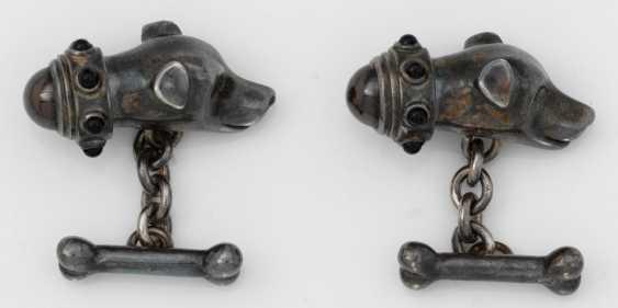 Pair of cufflinks by Bettina Schulte-Hebing - photo 1
