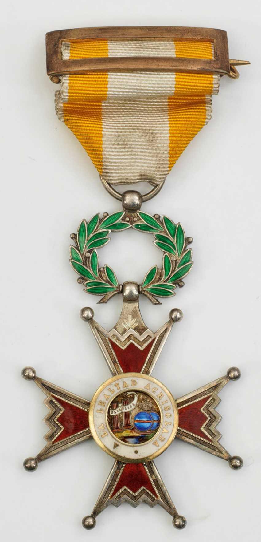 Silberkreuz des Orden de Isabel la Católica - photo 1