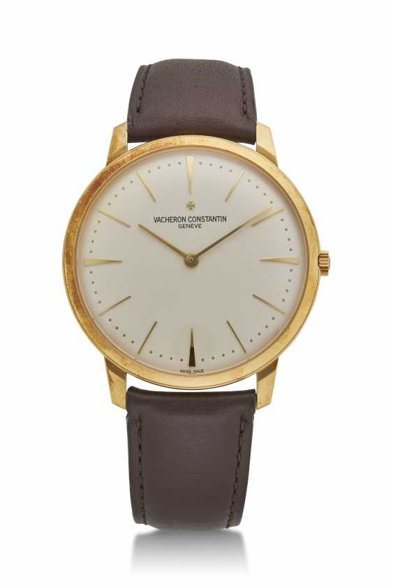 VACHERON CONSTANTIN, YELLOW GOLD PATRIMONY, REF. 81180 - photo 1