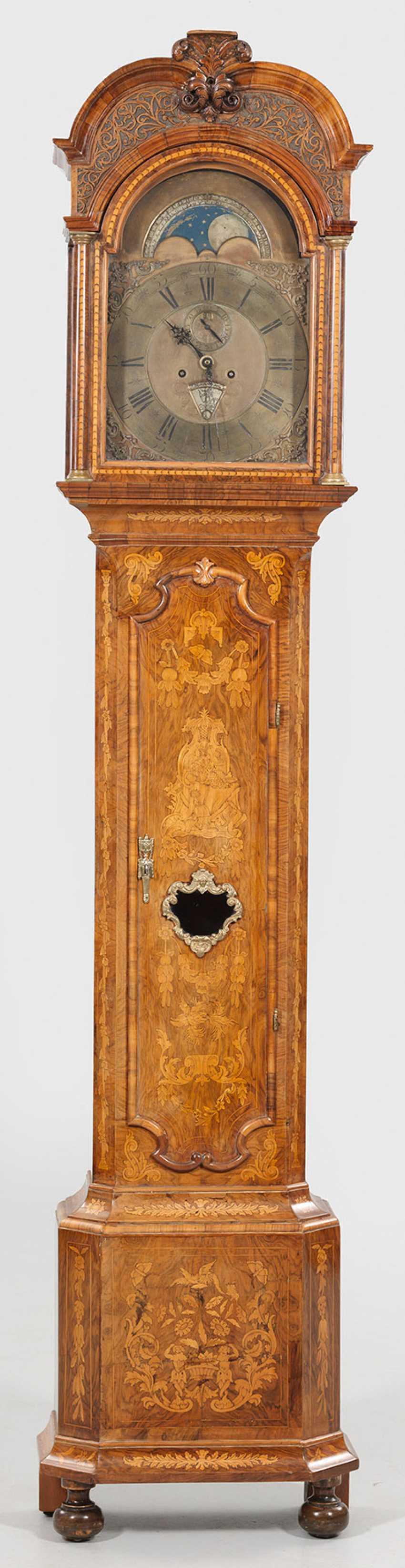 Large Baroque Longcase Clock - photo 1