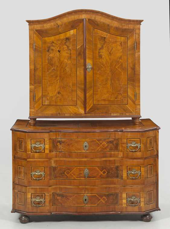 Large Baroque-Top Chest Of Drawers - photo 1