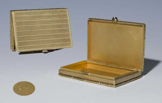 Gold-Tabatiere - photo 1