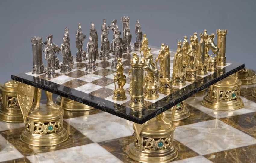 Large Magnificent Historicism-The Chess Game - photo 1