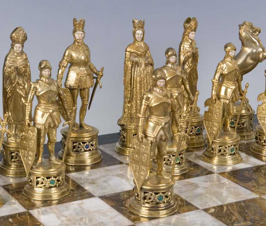 Large Magnificent Historicism-The Chess Game - photo 5
