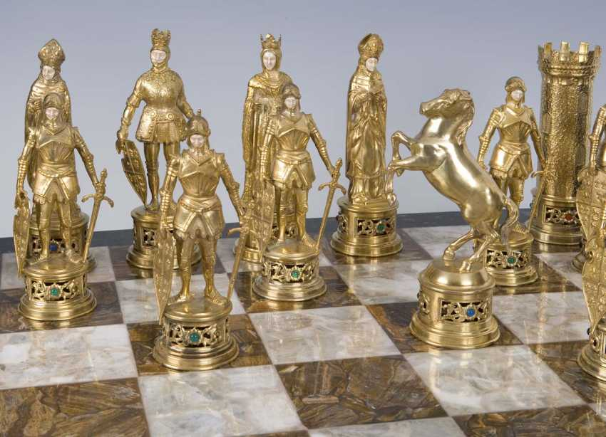 Large Magnificent Historicism-The Chess Game - photo 4