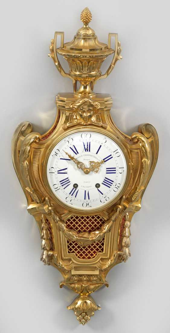 Large Louis XVI cartel clock - photo 1