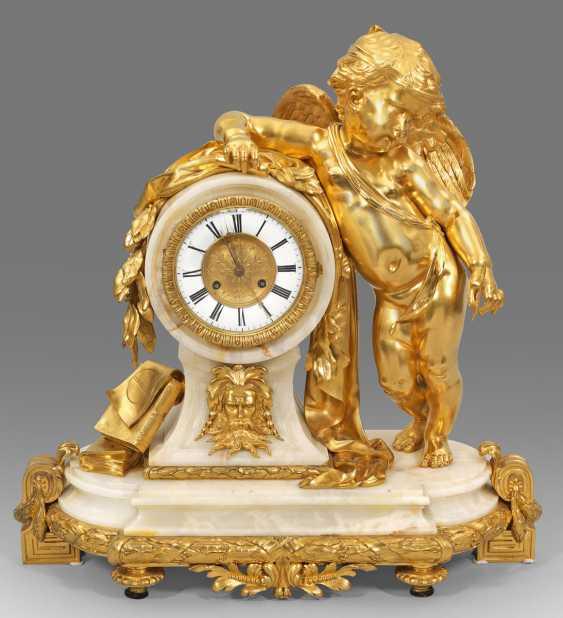 Imposing Louis XVI-Figurenpendule - photo 1