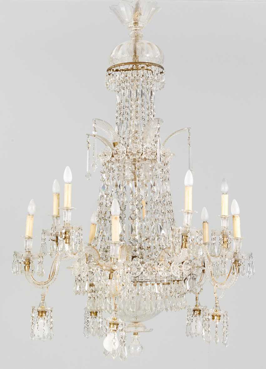 Some imposing Belle Epoque chandelier - photo 1