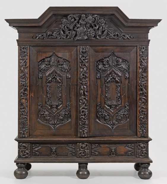 Large Baroque Hall Cupboard - photo 1