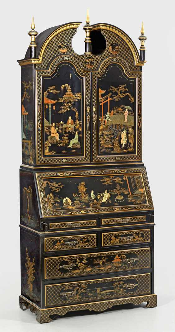 Writing Desk with chinoiserie decoration - photo 1
