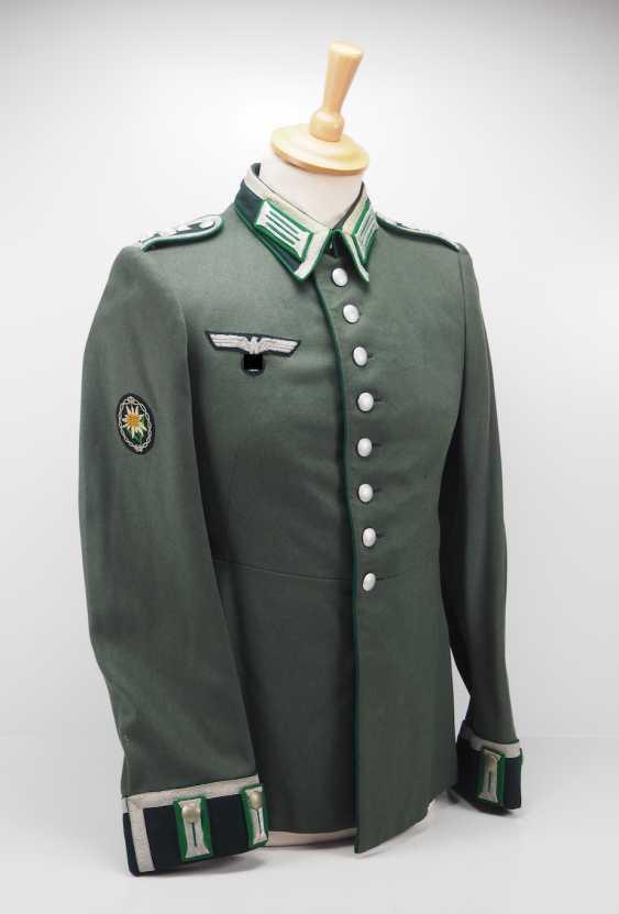 Abzeichen Schulterstücke Schulterklappen Feldbluse M40 Feldwebel Infanterie