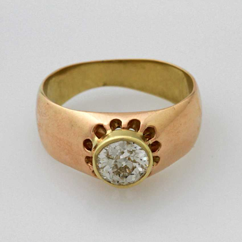 Bandring Gelbgold/RG 14 K - photo 1