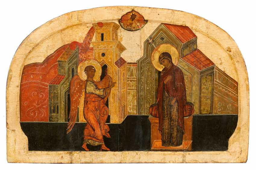 """Great Icon, """"The Annunciation"""" - photo 1"""